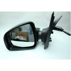 Зеркало левое механическое для Логан с 2013 г. (c поворотником, без крышки)