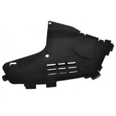 Защита нижняя переднего бампера правая Asam для Logan ф1