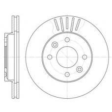Тормозной диск передний Roadhouse D=238