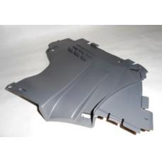 Защита нижняя переднего бампера левое для Logan ф2