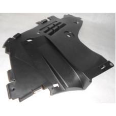 Защита нижняя переднего бампера правая Asam для Logan ф2