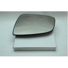Стекло зеркала левое без подогрева  для Logan ф2