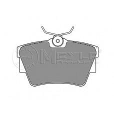 Комплект задних тормозных колодок для Trafic 2 Meyle