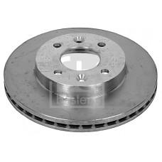 Тормозной диск передний для Kangoo (98-2008) 259X20.6 - Febi (Германия) 09073