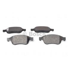 Комплект передних тормозных колодок (дисковый тормоз) для Megane 3 BOSCH