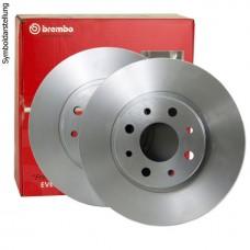 Диск тормозной передний вентилируемый для Megane 3 Brembo
