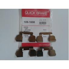 Защелка в суппорт передних тормозных колодок QUICKBRAKE для Logan MCV