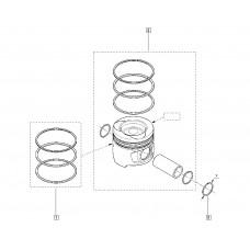 Поршневые кольца для Kadjar 1.5Dci Renault