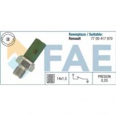 Датчик давления масла для Kangoo 1.9dCi/dTi 02.2000- FAE (Италия) 12630