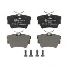Комплект задних тормозных колодок для Trafic 2 Ate