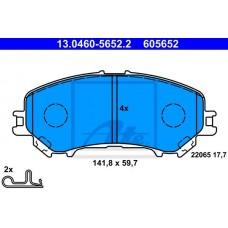 Комплект передних тормозных колодок для Kadjar Ate