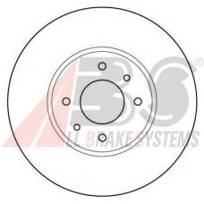 Тормозной диск передний для Kangoo 4x4 (98-2008) 280x24 - A.B.S 16924