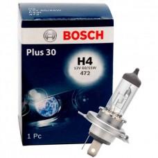 Лампочка дальний/ближний свет (12V 60/55W H4 Plus 30) BOSCH для Logan