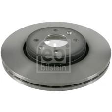 Тормозной диск передний для Kangoo (98-2008) 238X20.1- Metelli (Испания) 23-0549C