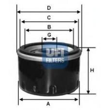 Масляный фильтр для Captur 1.2 16V Ufi