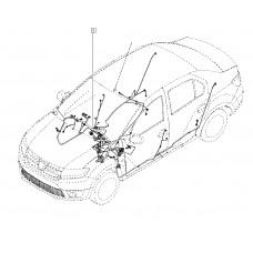 Жгут проводки салона для Logan 2 Renault