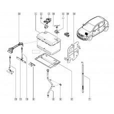 Сапун АКБ для Logan 2 Renault