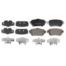 Комплект задних дисковых тормозных колодок для Kadjar Breck