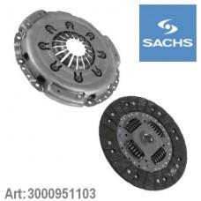 Комплект сцепления (без подшипника) для Master 2 1.9Dci Sachs