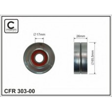 Ролик натяжного механизма ремня генератора (+AC) Caffaro для Kangoo 1.5dci (2001>)