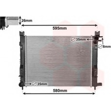 Радиатор водяной для Captur Asam