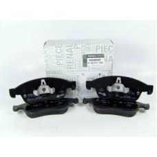 Комплект передних тормозных колодок для Renault Dokker, Lodgy оригинал