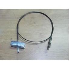 Трос ручника центральный 1585мм для Trafic 2 AdriAuto
