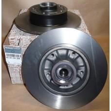 Комплект подшипника задней ступицы с тормозным диском  для Megane 3 Renault