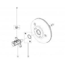Главный тормозной цилиндр для Kadjar Renault