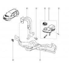Бачек гидроусилителя для Kadjar Renault