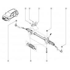 Пыльник рулевой рейки для Kadjar Renault