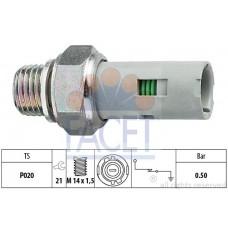 Датчик давления масла для Kangoo 1.5dCi (65л.с+82л.с)+1.6 16V(95л.с)1.9idCi 01 - Facet (Италия) - 7.0151