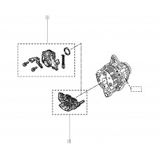 Регулятор напряжения генератора для Logan 2 1.2 Renault