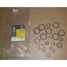 Комплект сальников кондиционера для Kangoo 97-  — RENAULT (Оригинал) - 7701207465