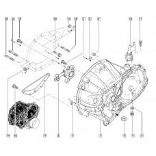Шпилька М10х150-65 КП (механической) для Logan 2 Renault
