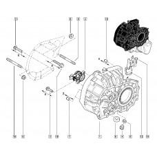Втулка центровочная (комплект) КП (механической) для Logan 2 Renault