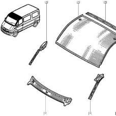Панель крыши для Master 2 Renault