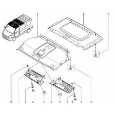 Внутренняя обивка крыши для Master 2 Renault