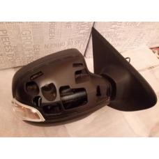 Зеркало левое механическое для Логан с 2013 г. (с поворотником, без крышки)
