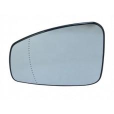 Вкладыш зеркала левый выпуклый обогрев  для Megane 3 Renault