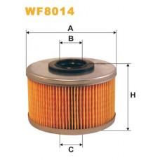 Фильтр топливный (51mm) (тип BOSCH) WIX для Kangoo 1.9d / 1.9 dti (98-2008)