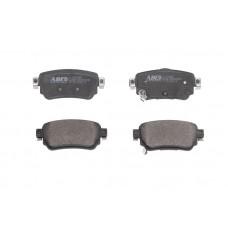 Комплект задних дисковых тормозных колодок для Kadjar ABE
