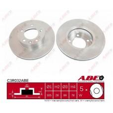 Диск тормозной передний вентилируемый для Master 2 Abe