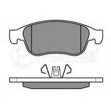 Комплект передних тормозных колодок (дисковый тормоз) для Duster Meyle