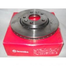 Диск тормозной передний вентилируемый для Duster 1.5, 1.6 Brembo (269х23)