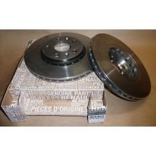 Комплект тормозных вентилируемых дисков для Duster 1.6 Renault