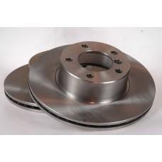 Комплект тормозных вентилируемых дисков для Duster 1.6 Motrio