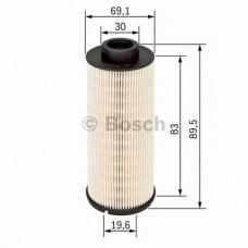 Топливный фильтр с 03-> (система Purflux h 87мм) для Trafic 2 2.5Dci BOSCH
