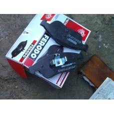Комплект передних тормозных колодок (дисковый тормоз) для Megane 3 Ferodo