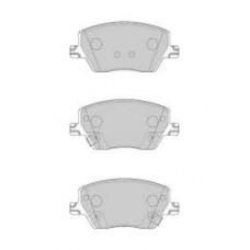 Комплект задних дисковых тормозных колодок для Kadjar Ferodo